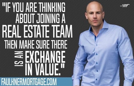 What you should look for when joining a real estate agent team