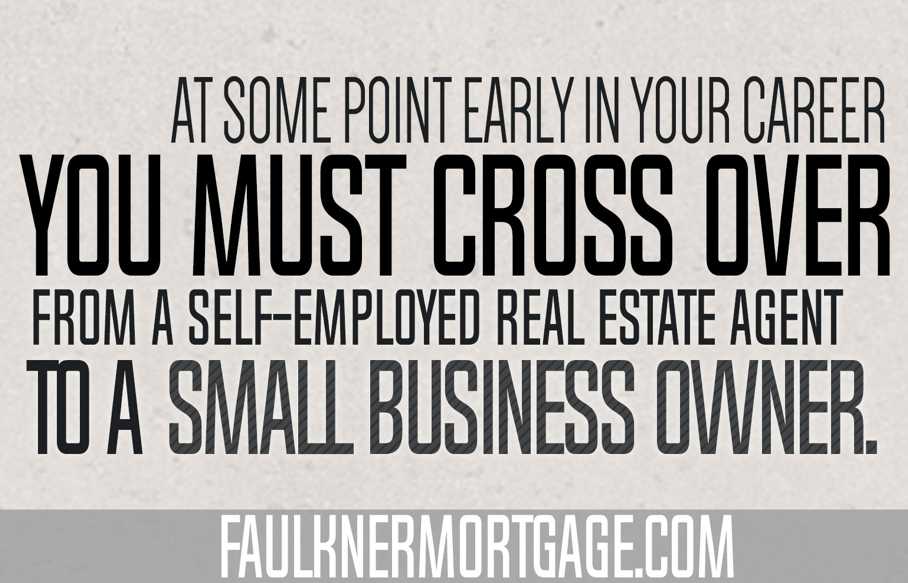 Why did you become a real estate agent?