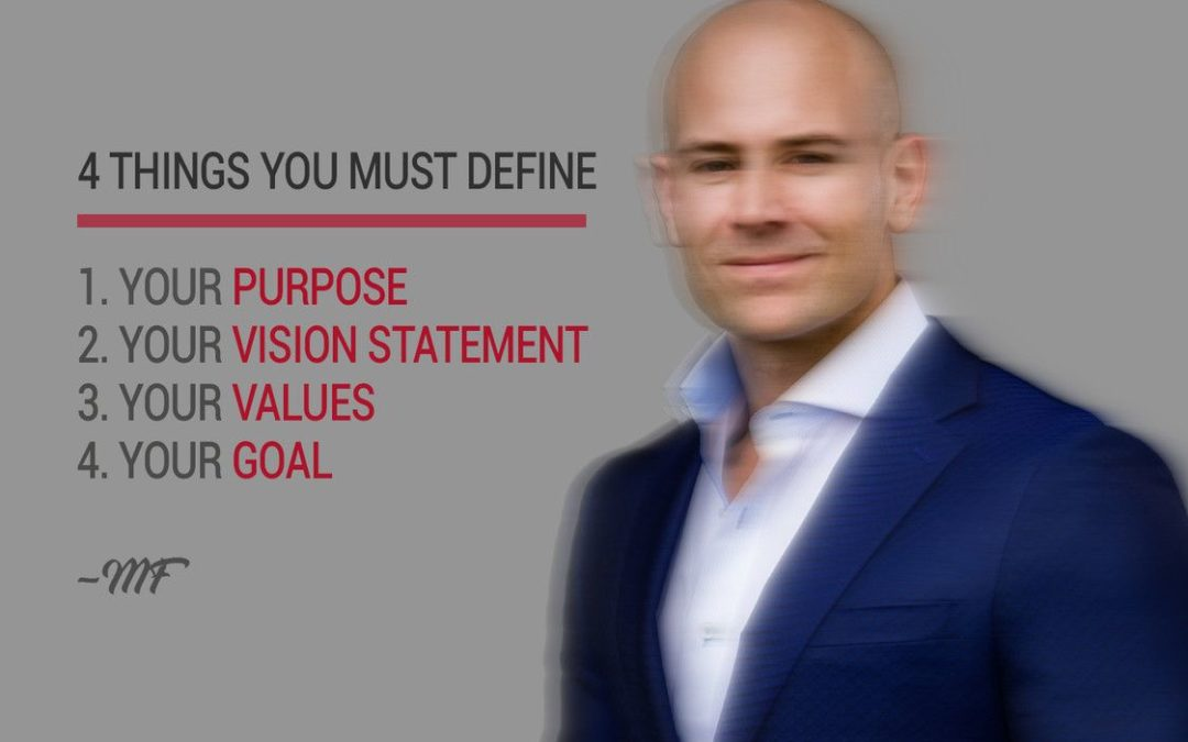 STOP WAITING TO DEFINE YOUR PURPOSE!